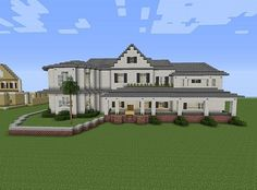 Townhouse Mansion minecraft house designs 4                                                                                                                                                                                 More