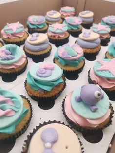 Mermaid Cakes, Cupcakes, Treats, Desserts, Food, Sweet Like Candy, Tailgate Desserts, Cupcake Cakes, Goodies