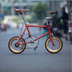 Cute folding bicycle