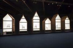 MOCO LOCO Galleries | 6chairs 6rooms / Future Primitives by Nendo