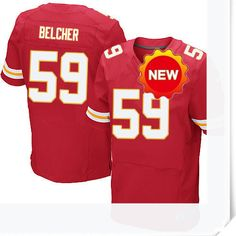 $66.00--Jovan Belcher Jersey - Elite Red Home Nike Stitched Kansas City Chiefs  Jersey,Free Shipping! Buy it now:http://is.gd/lOIzSt
