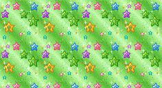 Animated Colorful Stars Green Glitter eBay Template FreeAuctionDesigns.com