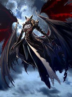 vampire the Blood lord by pamansazz on deviantART Dark Fantasy Art, Fantasy Artwork, Dark Art, Fantasy Monster, Monster Art, Fantasy Creatures, Mythical Creatures, Deadly Creatures, Vampires And Werewolves