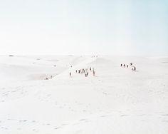 white sand dunes of Lencois Maranhenses, northeastern Brazil ( Brazil Through the Lens of Massimo Vitali- NYTimes.com)