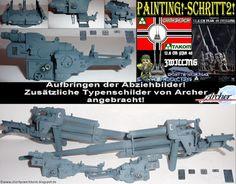 Shortys Werkbank: Workbench-12.8 CM FLAK 40 ZWILLING-Takom-Painting!...