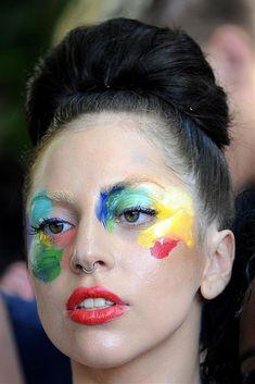 lady gaga make up - Buscar con Google