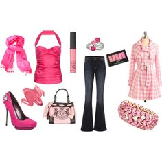 Pink... Maybe a different top, but love everything else!
