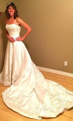 1edbe19301d Allure Bridals  buy this dress for a fraction of the salon price on  PreOwnedWeddingDresses.