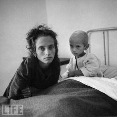 Italian Refugee Camp, Cesano, 1944, by Carl Mydans