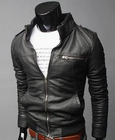 BICAMRT Mens Genuine Leather Motorcycle Jacket Bomber Leather Jacket Waterproof at Amazon Men's Clothing store: