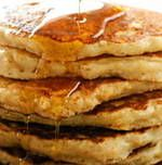 Oatmeal pancakes - substitute almond milk