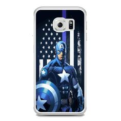 Captain America United We Stand For Samsung Galaxy S6 Edge Plus Case