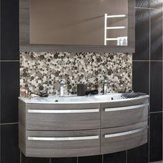 Meuble de salle de bains Image, gris