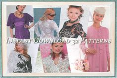 32 Crochet Patterns. Ebook. Instant by YourCreativeCrochet on Etsy, $3.00