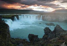 Iceland, Waterfall, Outdoor, Outdoors, Waterfalls, Outdoor Games, Rain, Outdoor Living