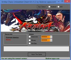 We present 100% working Kritika Chaos Unleashed Hack Tool in a few seconds.You only have to login and press activate hack. You can be sure that you will be one of the best player after use this cheat. However, do you dislike following the conventional approach of playing? Are you fascinated by shortcuts and love taking the shorter road to the destination