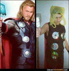 Parecidos no razonables: Thor.
