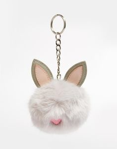 Find the best selection of ASOS Rabbit Pom Bag Charm Keychain. Shop today with free delivery and returns (Ts&Cs apply) with ASOS! Primark Kids, Asos, Fendi, Key Chain Rings, Ashley Brooke Designs, Girls Bags, Fur Pom Pom, Women's Accessories, Purses And Bags