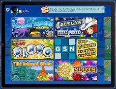 Enjoy GSN Mobile Casino Games on your iPad!