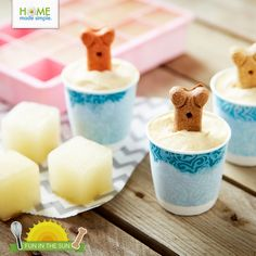 Create #pet-friendly ice pops, ice cream and other goodies with our simple, delicious and wholesome summer treat ideas to help your #dog stay cool this summer.