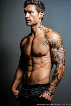 55 Awesome Men's Tattoos   InkDoneRight We've collected 55 Awesome Different Mens Tattoo Designs to inspire you! We also have the meaning and symbolism behind the common men's tattoo designs...
