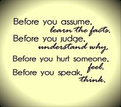 Simple words, big  message!