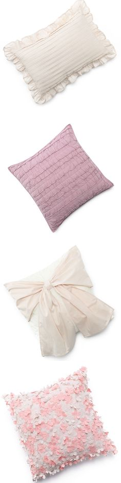A dainty #LCLaurenConrad pillow can goes a long way in a space of any size. #Kohls