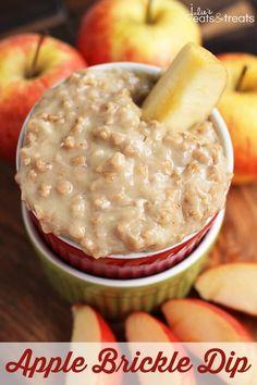 Apple Brickle Dip - Julie's Eats & Treats