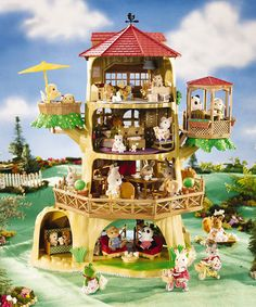 Look what I found on #zulily! Country Tree House Set #zulilyfinds