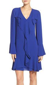 BCBG | Debra Ruffled Trim Dress
