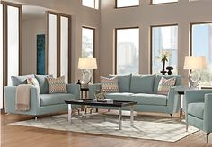 Shop for a Sofia Vergara Carinthia Hydra 5 Pc Living Room at Rooms To Go. Find Living Room Sets that will look great in your home and complement the rest of your furniture.