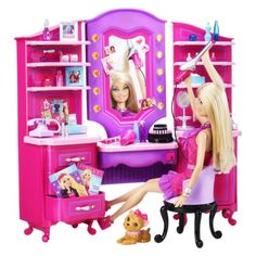 Wow, cool new stuff : Barbie Vanity Playset.Opens in a new window