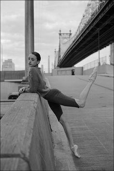 Claire -Queensboro Bridge  Become a fan of theBallerina Projecton Facebook.  Check out the newBallerina Project blog.