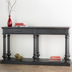 Store your extra dinnerware, flatware, and table linens in a buffet table or sideboard. Shop our great selection of stylish buffet tables and sideboards. Sideboard Buffet, Console Table, Joss And Main, Furniture Projects, Table Linens, Entryway Tables, Sweet Home, New Homes, Traditional