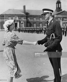 Princess Elizabeth at Sandhurst in 1951 - Berkshire Elizabeth Ii Young, Princess Elizabeth, Princess Margaret, Queen Elizabeth Ii, Princess Diana, Duchess Of York, Duke And Duchess, Isabel Ii, Queen Elizabeth