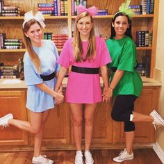 50 Bold And Cute Group Halloween Costumes For Cheerful Girls | EcstasyCoffee