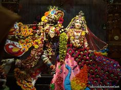 Pushpa Abhishek Festival at ISKCON Nigadi at Sri Govind Dham