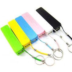 Carregador de celular portátil personalizado www.brindice.com.br/brindes/acessorio-para-celular