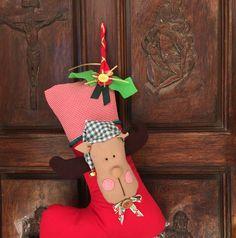 Bota navideña reno