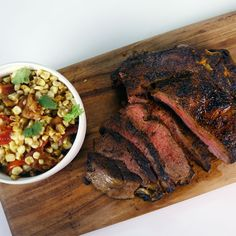 Need some beef for your Labor Day party? Try Michael Symon's Pan Roasted Rib Eye! #TheChew