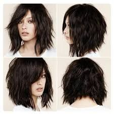 Image result for hair style medium shag wavy