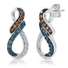 love the colored diamonds