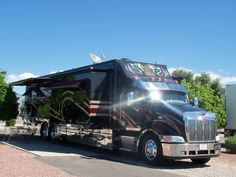 """The Beast,"" classy Super C motorcoach...BJL"