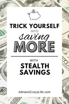The savings habit is a hard one to learn, but by using a few simple tricks, you can make it MUCH easier on yourself. And the savings will grow fast. #adrianscrazylife #savingmoney #stealthsavings #savingshabit Money Saving Meals, Best Money Saving Tips, Money Savers, Money Tips, Parenting Teens, Parenting Hacks, Show Me The Money, How To Make Money, Debt Snowball Spreadsheet