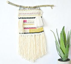 Quick and Easy Woven Wall Hanging
