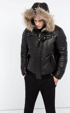 Rudsak Leather Winter Coat- Crawley 6115991