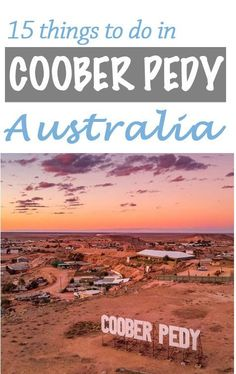 The underground mining town of Coober Pedy in South Australia is part of the Adelaide to Darwin road trip through central Australia. Find free camping, drive times, essential things to do and more. Brisbane, Perth, Melbourne, Sydney, Australia Destinations, Australia Tours, Australia Travel Guide, Travel Destinations, Darwin Australia