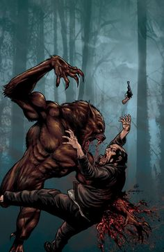 You pulled that gun for nothin homie. Better luck next life. Werewolf Games, Werewolf Art, Apocalypse, Wolf People, Werewolf Hunter, Myths & Monsters, Samurai, Creepy Clown, Scary