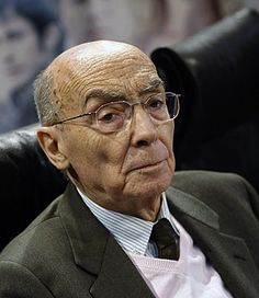 Jose Saramago, seen in 2009, has died at age 87. The Portuguese writer won the Nobel Prize in Literature, in 1998.