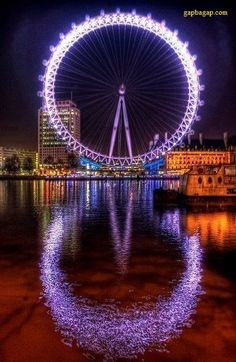 Beautiful Picture Of London Eye